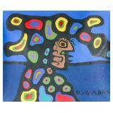NORVAL MORRISEAU Canadian 1932-2007 Acrylic