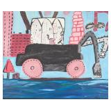 American New York Expressionist OOC Signed Guston