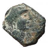 2nd Century BC Celtiberia Castulo Semis Bronze