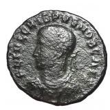 317-326 Roman Empire Crispus Follis Bronze Coin
