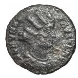 324-326 Roman Empire Fausta Follis Bronze Coin