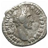 138-161 Roman Empire Antoninus Pius Silver