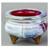 Chinese Junyao Yuan/Ming Type Porcelain Censer