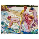 Maurice Denis French Modernist Tempera on Paper