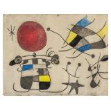 Joan Miro Spanish Surrealist Signed Litho 23/50