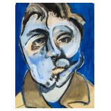 Francis Bacon British Modernist Tempera Portrait