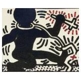 Keith Haring American Pop Art Signed Litho 34/90