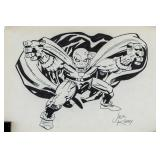 Jack Kirby American Pop Art Ink on Paper