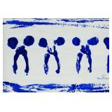 Yves Klein French Minimalist Oil on Canvas