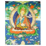 Print Tanka of Tsongkhapa on Canvas