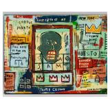 Jean-Michel Basquiat US Pop Acrylic on Canvas