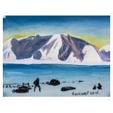 Rockwell Kent American Modernist Tempera on Paper