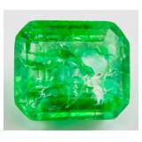 12.40 ct Natural Green Emerald w/ GGL Certificate