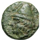 300 BC Greece Troas Birytis Bronze Coin