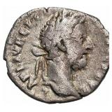 177-192 Roman Empire Commodus Silver Denarius
