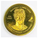 2002 Joe Sakic Canadian Olympic Team Coin