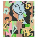 French Mixed Media NORTH FOCUS ART Signed Matisse
