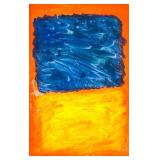 American Oil on Canvas Signed MARK ROTHKO