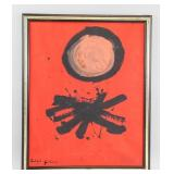 American Oil on Canvas Signed Adolph Gottlieb