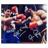 Alexis Arguello vs. Aaron Pryor Signed Photo COA