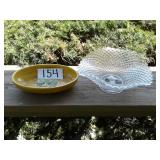 HAEGER DISH AND GLASS DISH