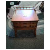 "END TABLE 25"" d x 23"" w x 24 1/2"" h"