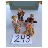 5 - BOYDS BEARS AND FRIENDS FIGURINES