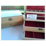 MELE JEWELRY BOX & WOODEN MUSICAL JEWELRY BOX