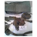 ARMY WATERPROOF BAG, AMMO POUCHES, FIRST AID
