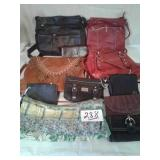 NAME BRAND PURSES & WALLETS
