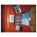3 PC. HANDSET ANSWERING SYSTEM