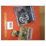 HARLEY DAVIDSON BOOKS, COLLECTOR CARDS