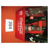 COCA COLA CARRIER W/MISC BOTTLES