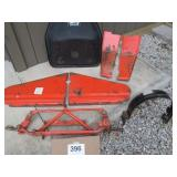 SIMPLICITY/A/C GARDEN TRACTOR PARTS, FRONT END,