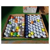 135 MIXED GOLF BALLS