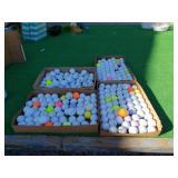 250 MIXED GOLF BALLS