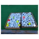 150 MIXED GOLF BALLS