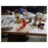 HOME DECÒR WOMENS SHOES SIZE11:TABLE CLOTH