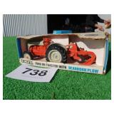 ERTL FORD 8N TRACTOR WITH DEARBORN PLOW