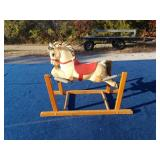DELPHOS BENDING COMPANY CHILDS ROCKING HORSE-SOME