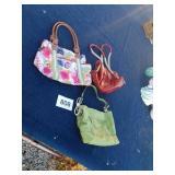 3 designer purses