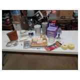 American Fostoria Bake a light dresser set
