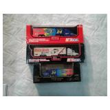 Nascar collectibles semi trailers diecast