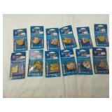 Wincraft Sports collector hat pins NASCAR