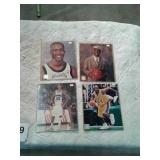Autographed basketball photos with certificate of