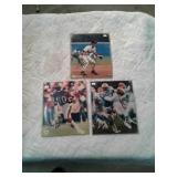 Autograph football and baseball with certificates