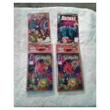 Comic books Batman and Spawn