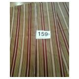 """2 pair JCPENNEY ROD POCKET DRAPES 53""""X84"""""""
