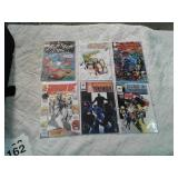 Comic books Ren and Stimpy, Brigade, Shadow Man,