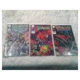 Comic books Cyber Force, Spawn